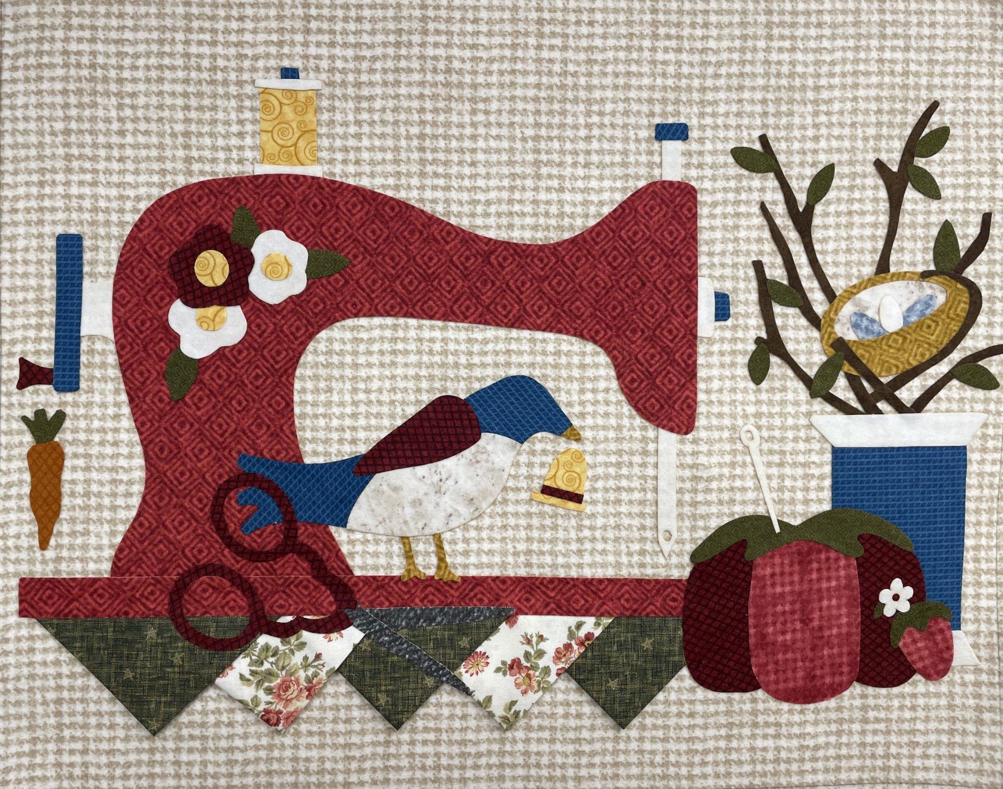 Spring Vintage Sewing Machine Kit