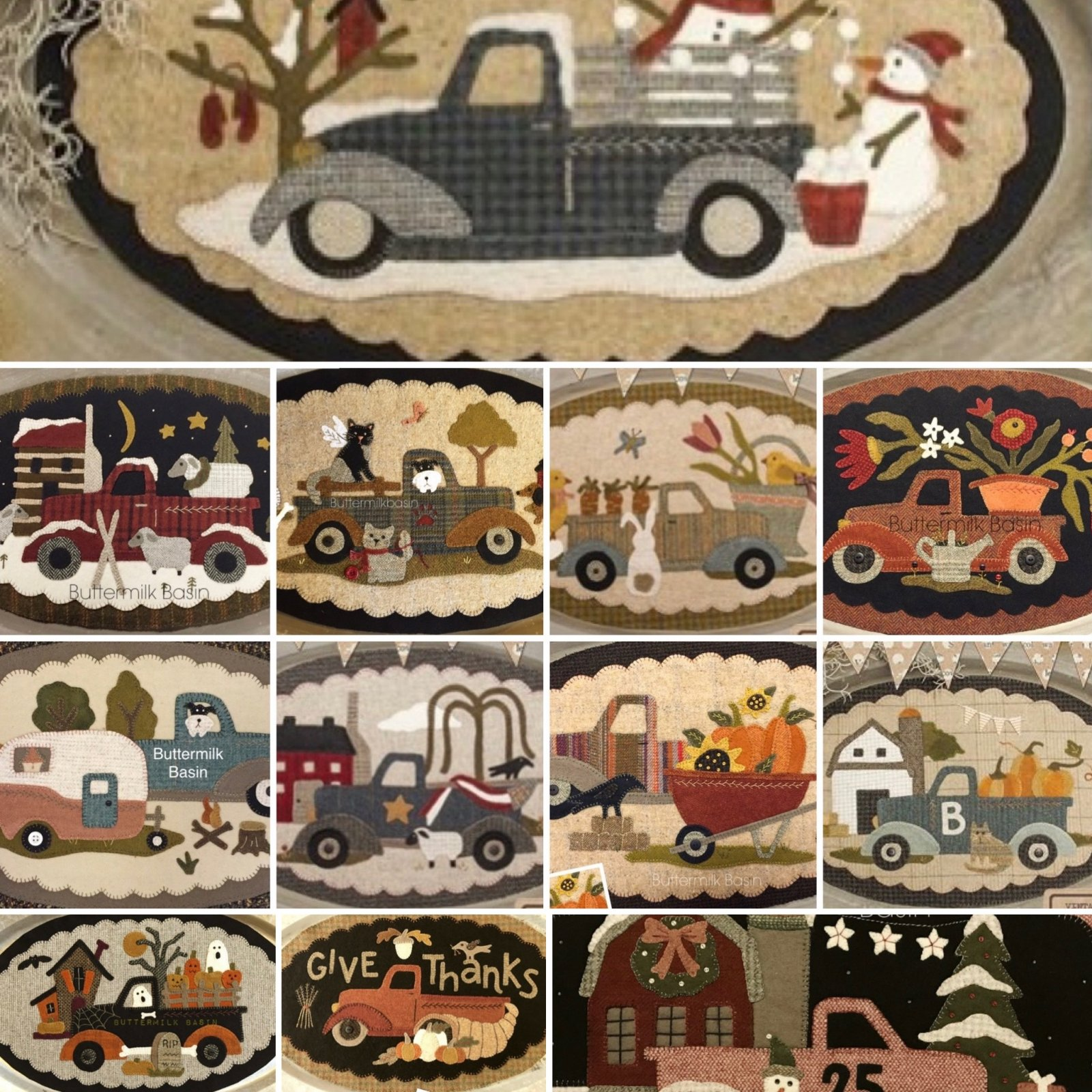 Vintage Truck Wool All 12 Months