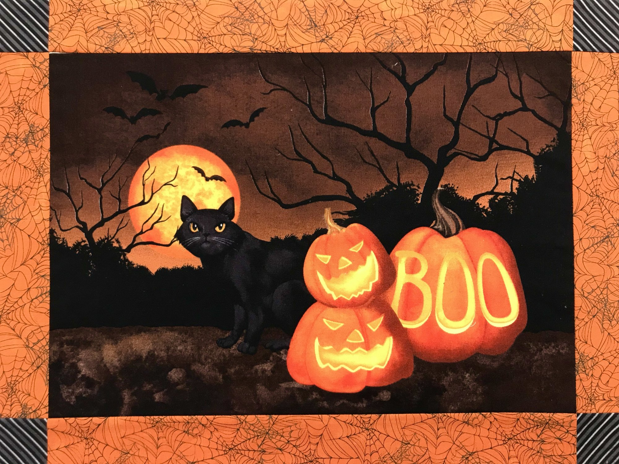 Haunted Night Placemat 4 ct