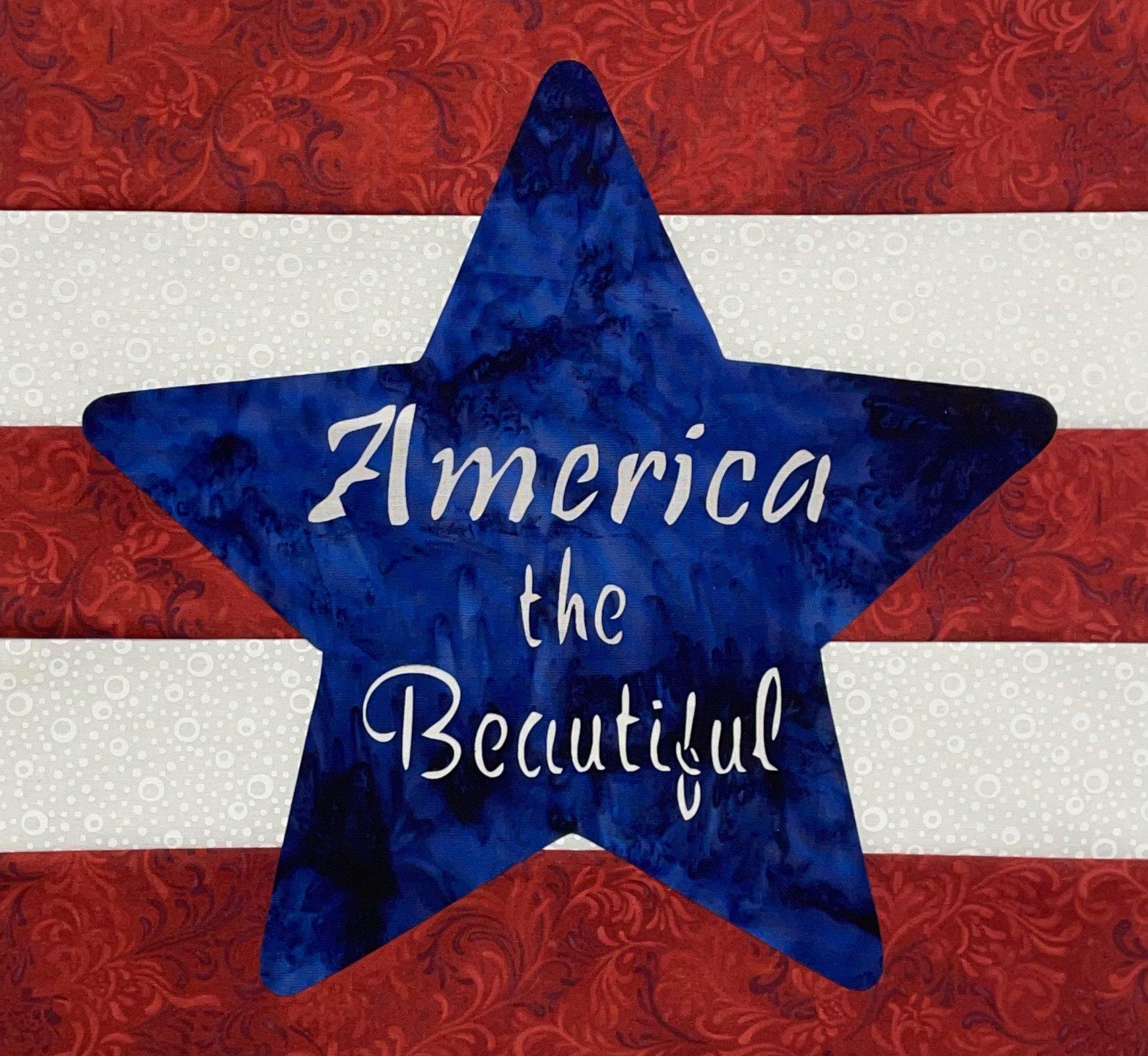 Shop Hop Bonus Block: America the Beautiful Block Kit