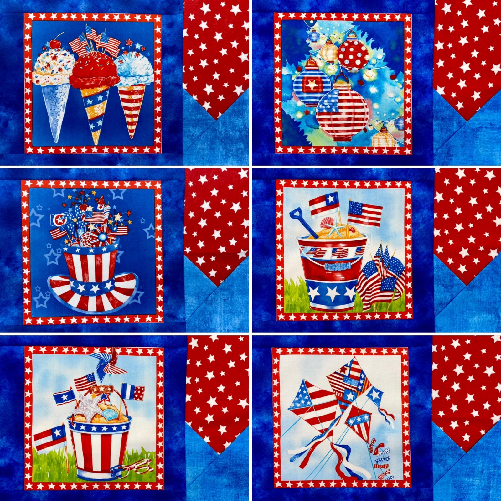 Star Spangled Placemats Kit
