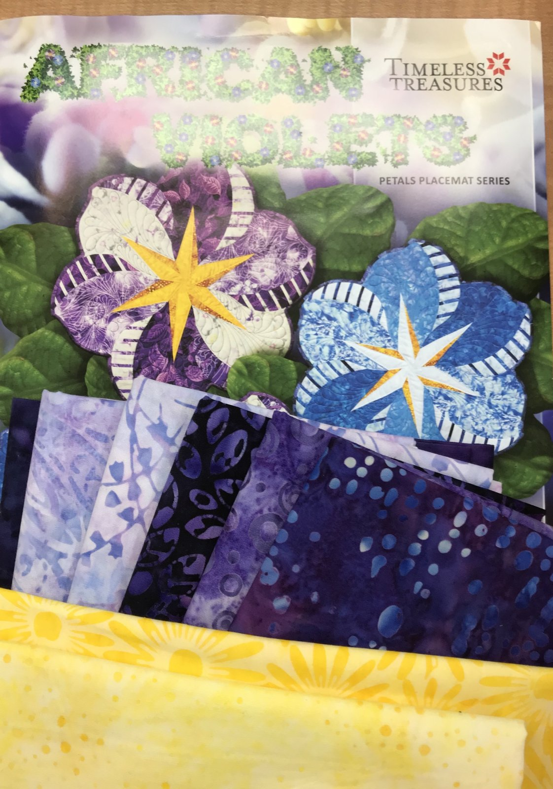 African Violets Placemat Kit