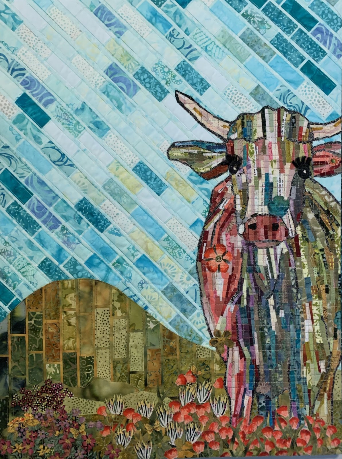 Teeny Tiny Collage Cow Starter Kit