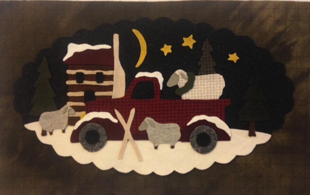 Vintage Truck Wool February Kit