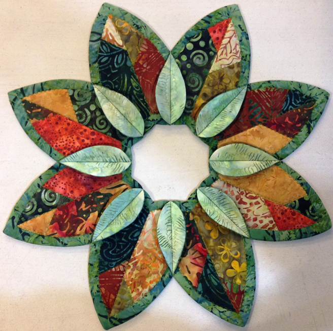 Fold'n Stitch Leaf Topper Kit