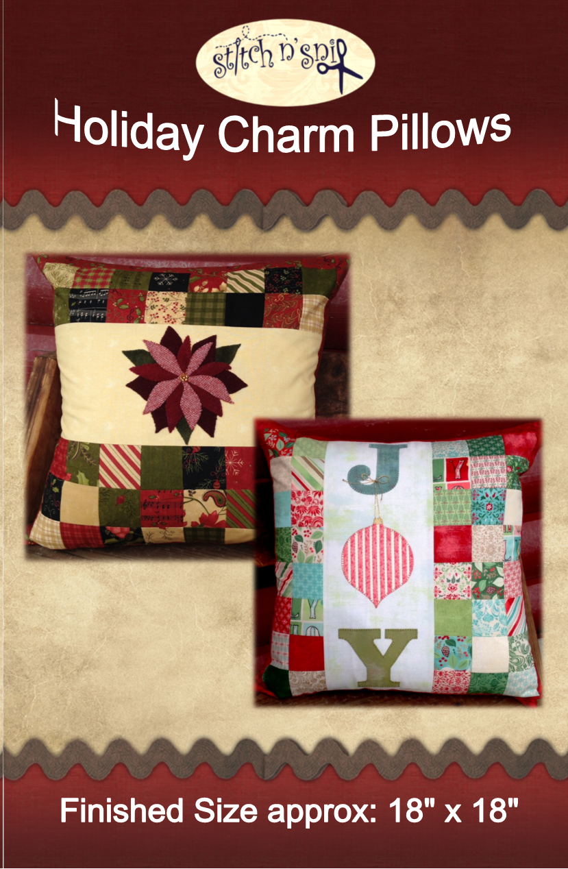 Holiday Charm Pillow Pattern