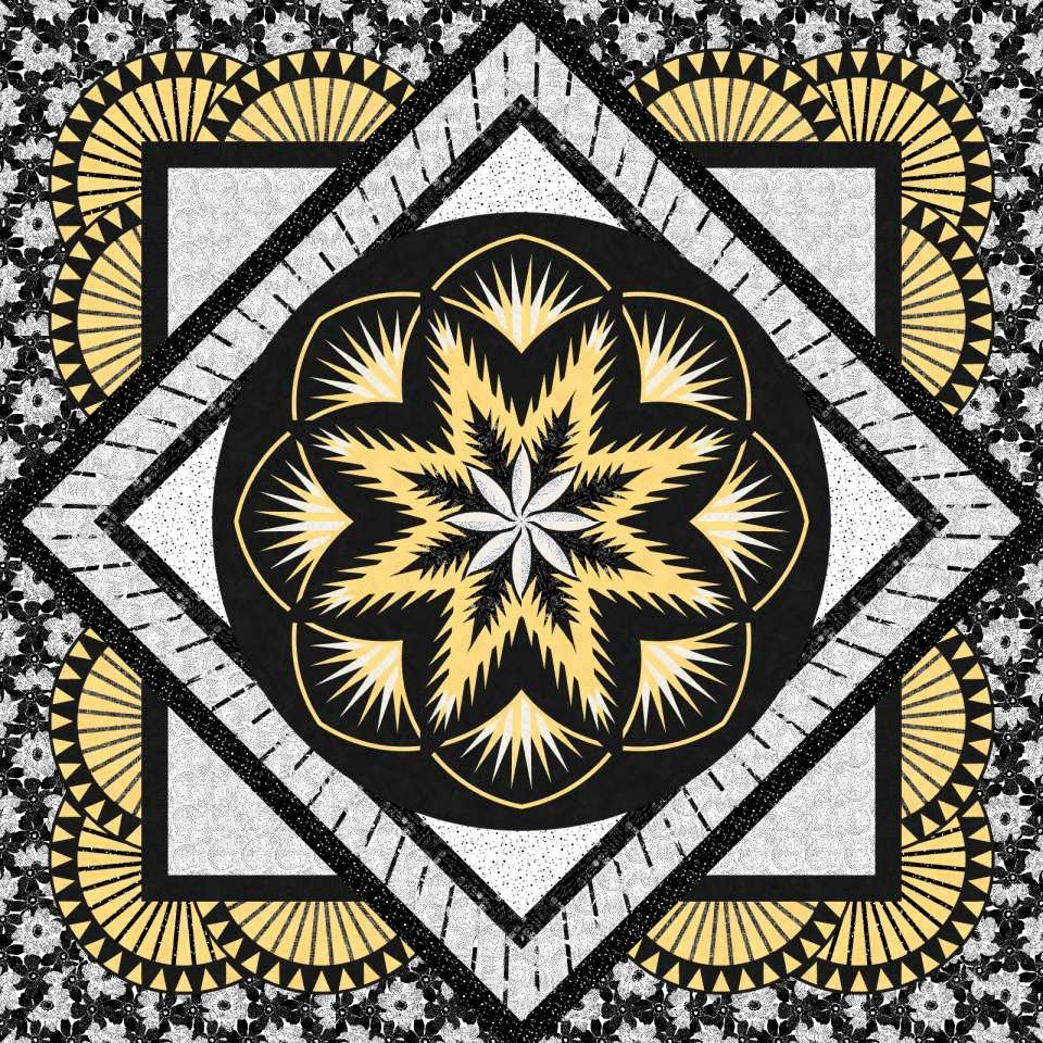 Honeycomb Quilt Kit