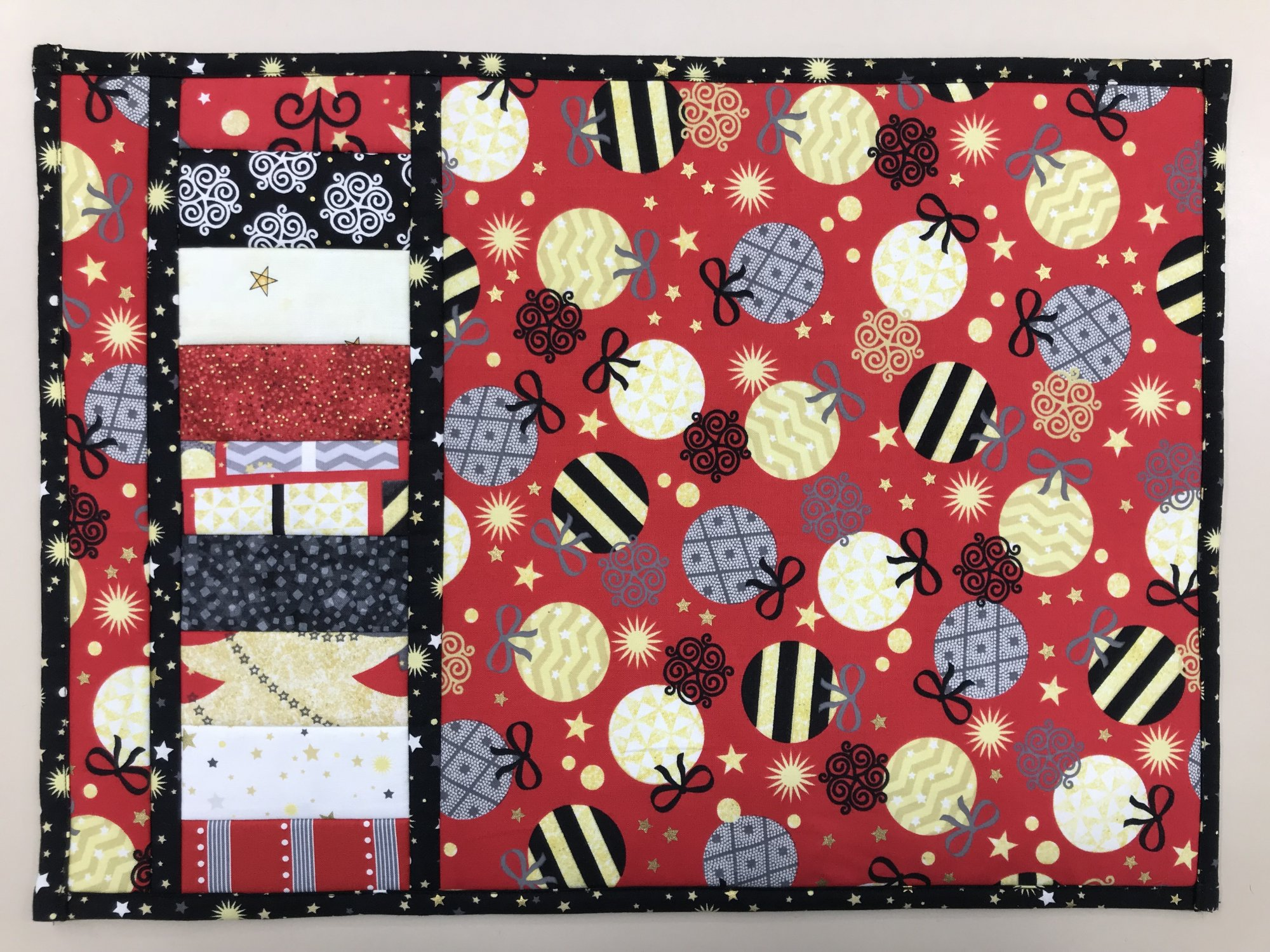 Easy Flip and Sew Placemats