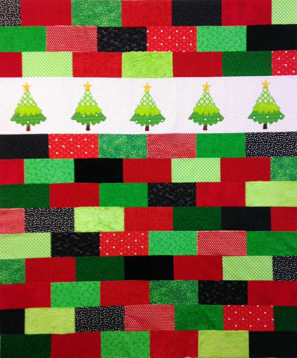 Cozy Trees Mixed Textured Quilt Kit