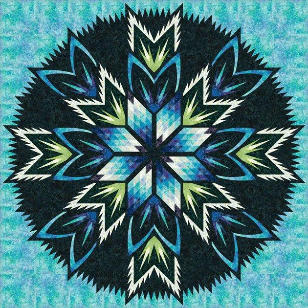 Queen Star Mixer: Blue Lagoon