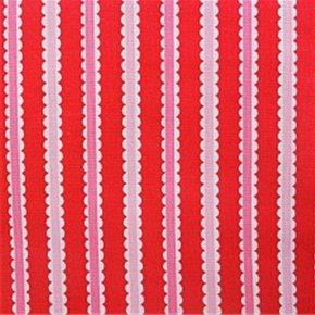 Doily Stripe LH12067 Red