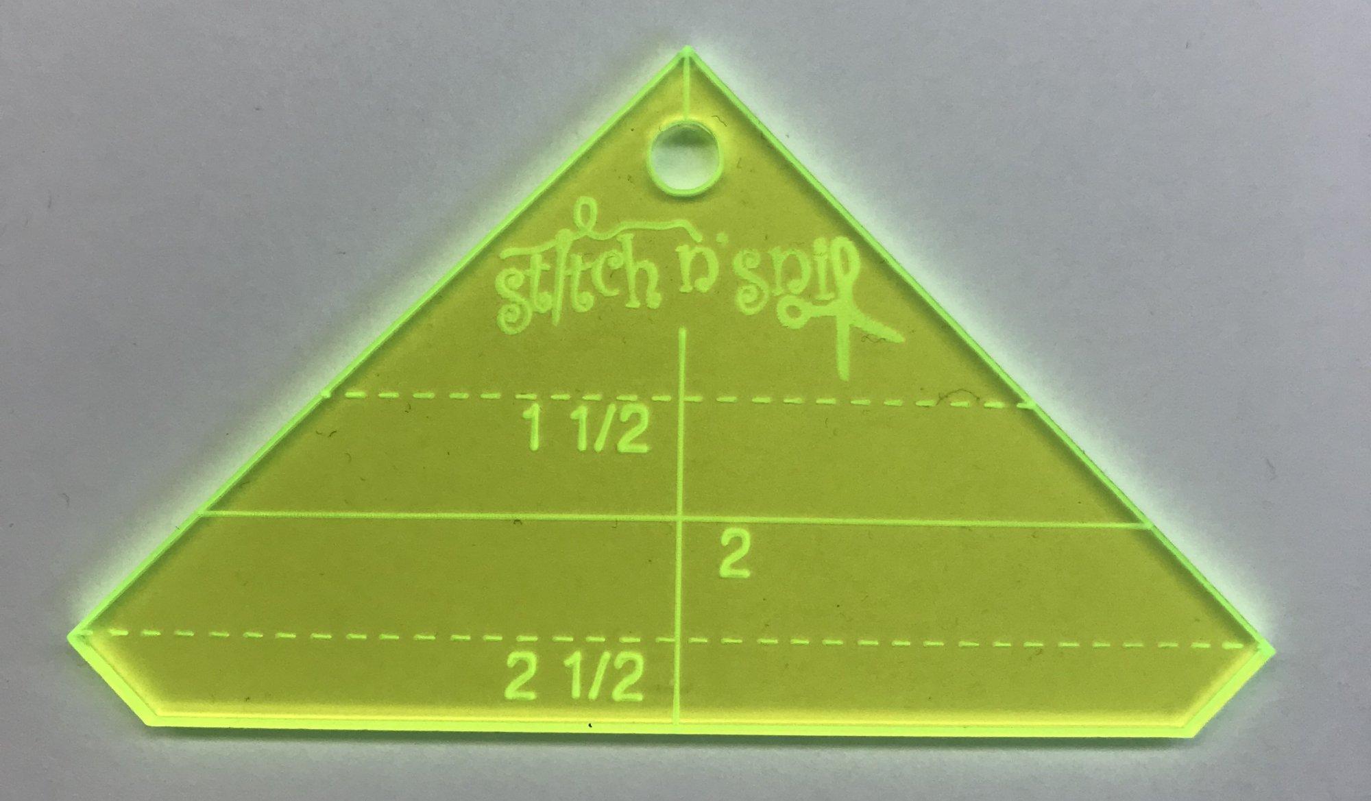 Stitch n' Snip Mini HST Square up Ruler