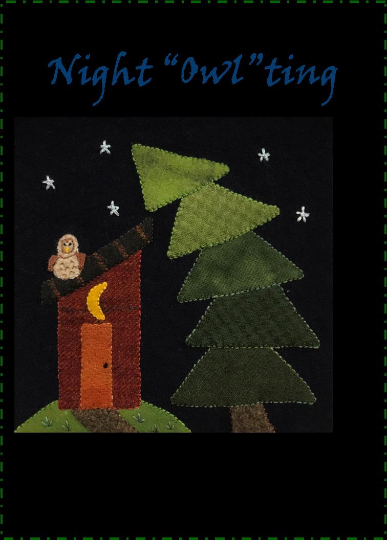Wooly Block Adventure 2020: Night Owlting Embellishing Pack