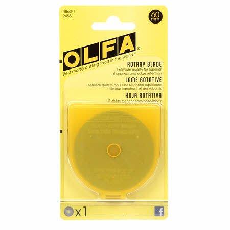 OLFA 60MM ROTARY BLADE 1 qty