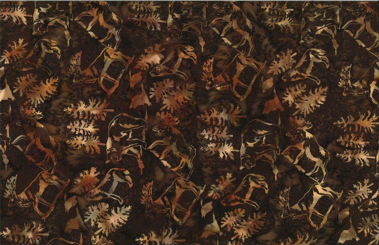 S2337-572 Bourbon Bali Batik Wildlife Aminals