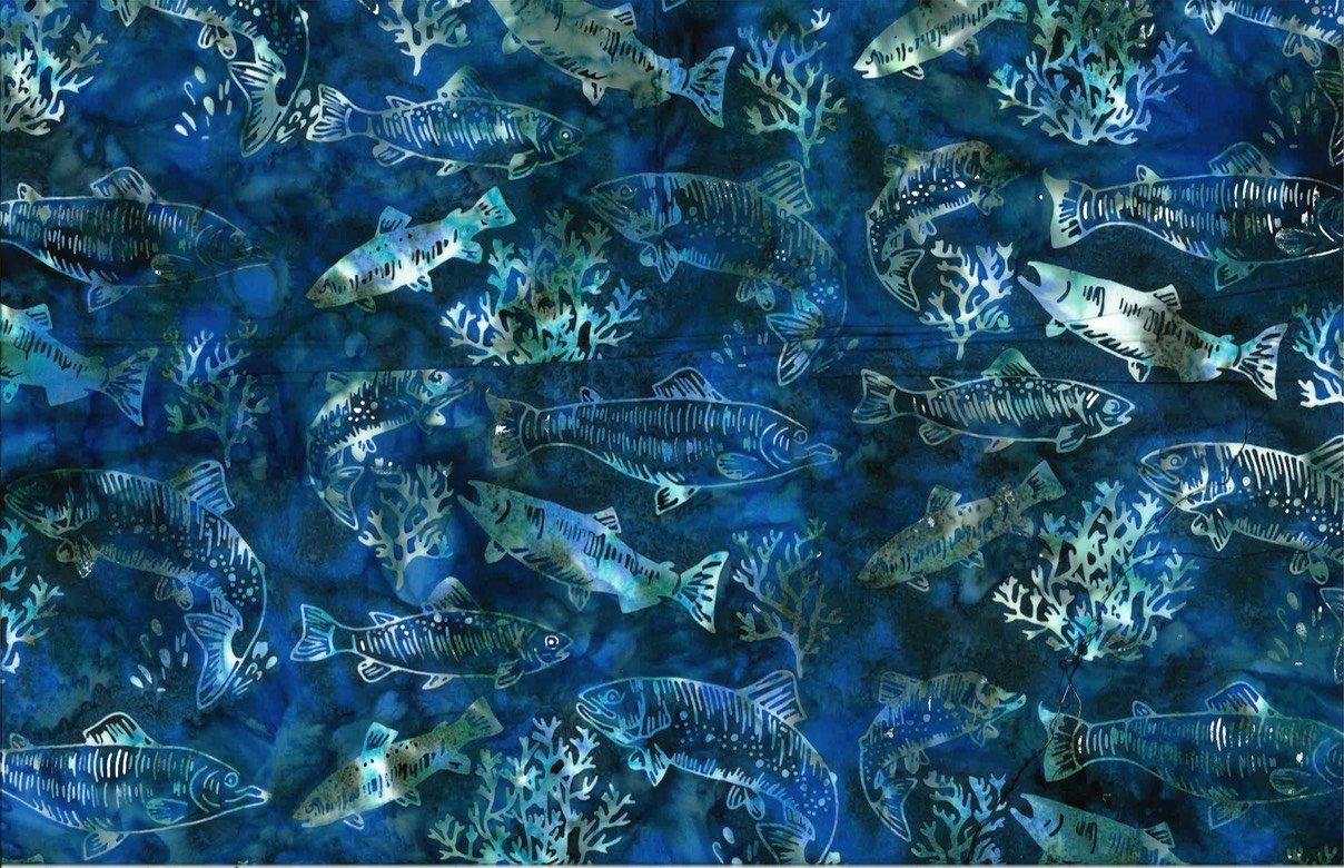 S2347-311 Lake Bali Batik Salmon and Trout
