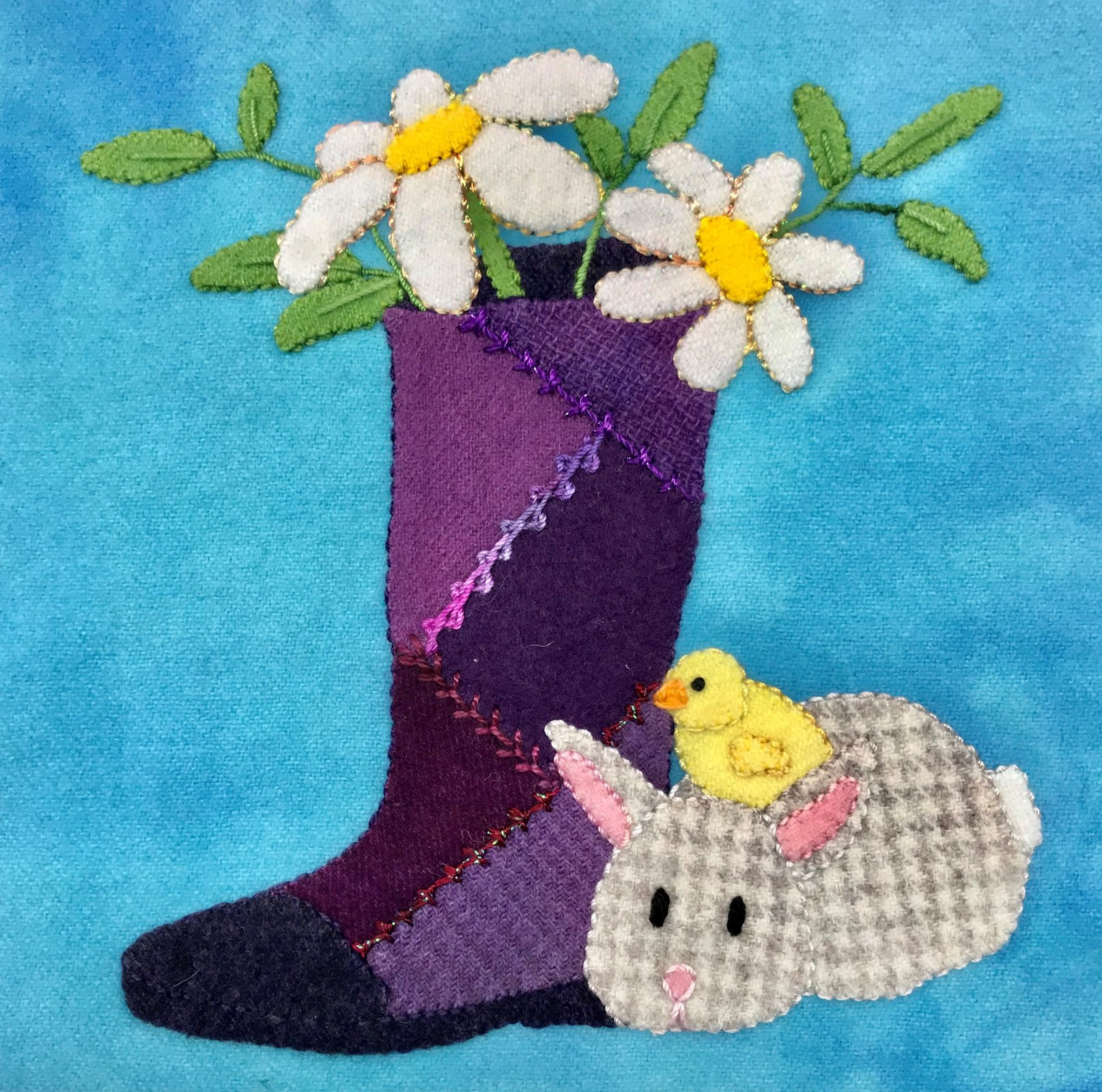 Wooly Block 2019: Welcome Spring Kit