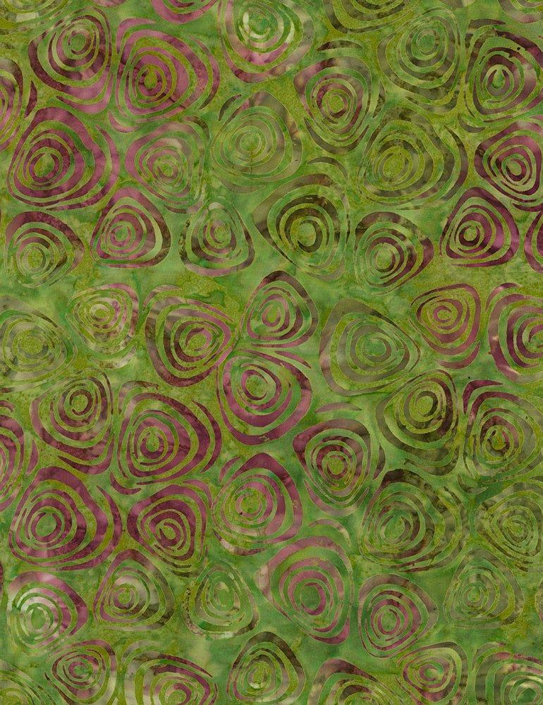 Swirls Batik B6194-Vine
