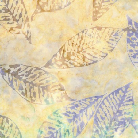 Fossil Leaf Batik B6233 Island