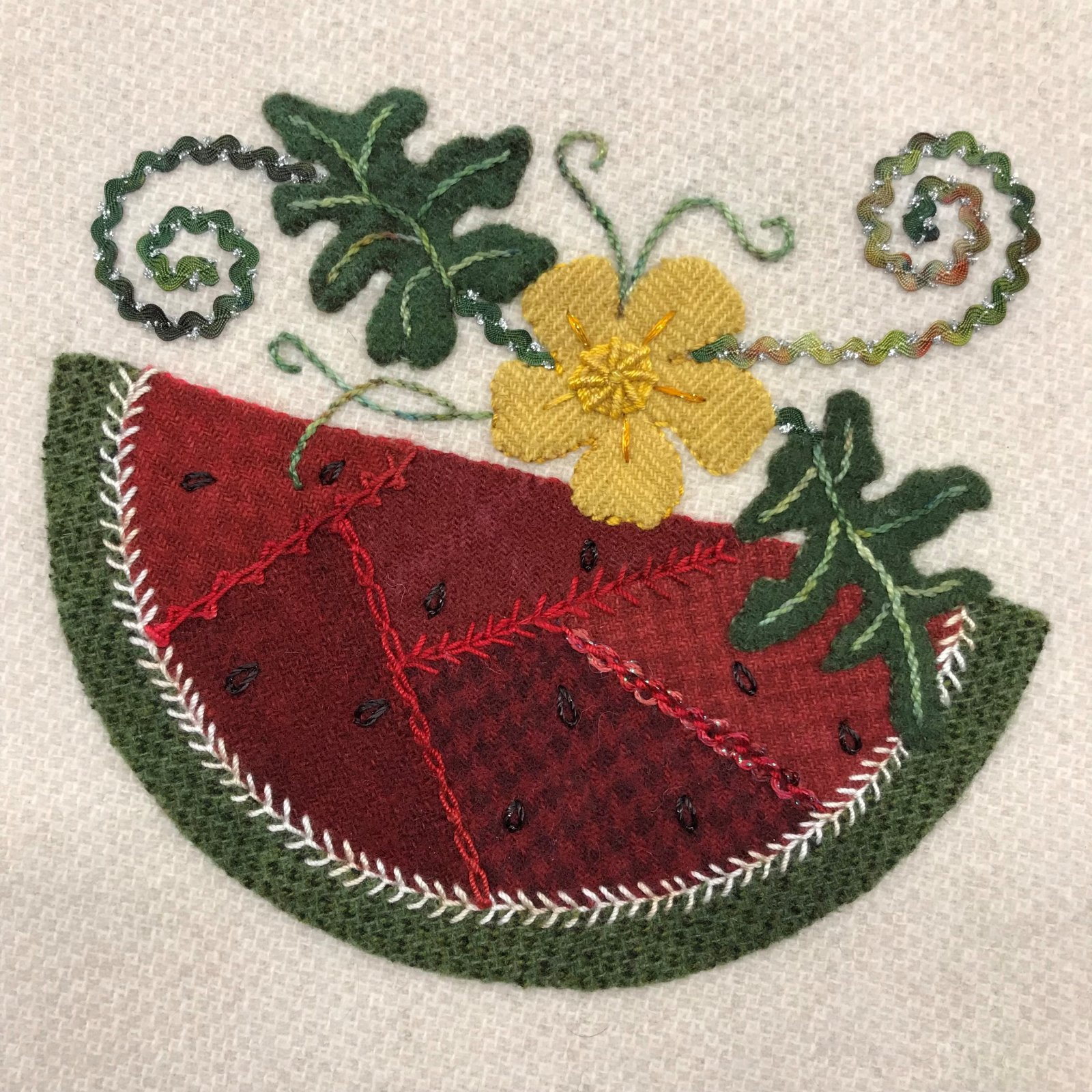 Wooly Block 2018: Watermelon Patches Kit