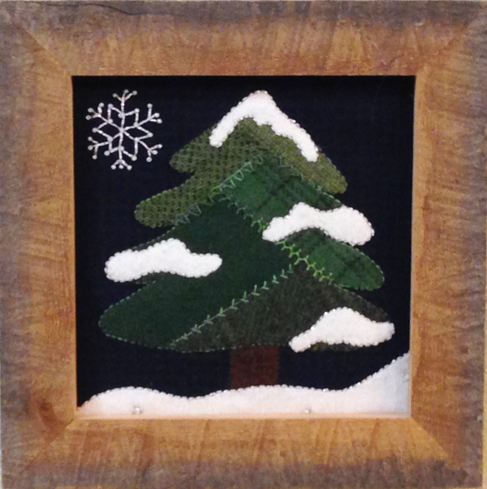 Wooly Block Adventure 2016: Winter Frosted Tree Kit
