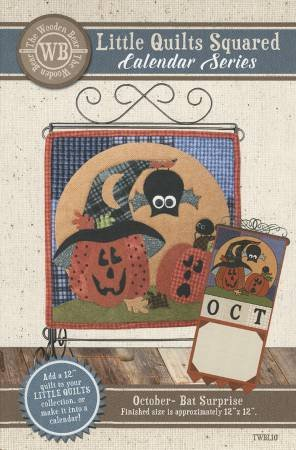 Pattern LSOS Little Quilts Squared October -- Bat Surprise