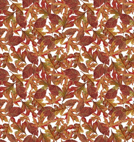 Fabric Pumpkin Spice Leaves