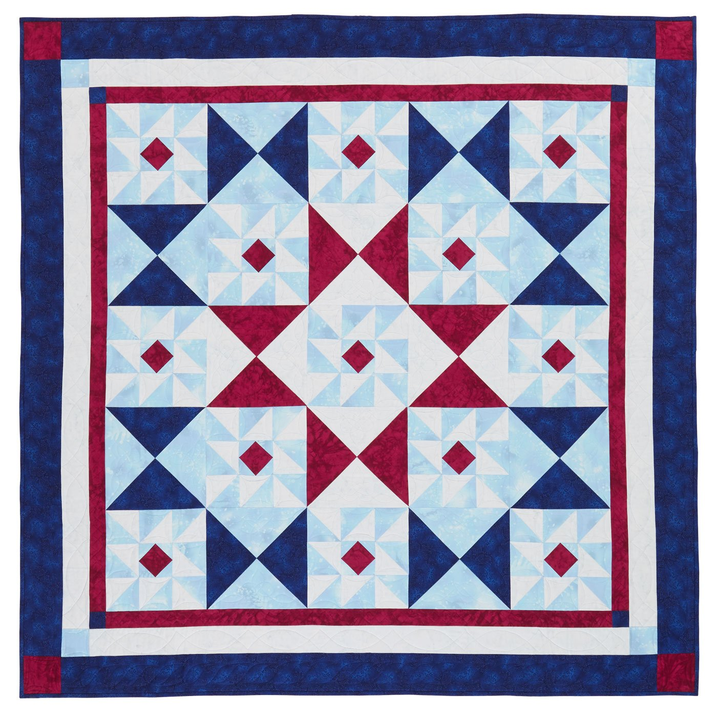 Kit Quilt Sampler Red White and Two