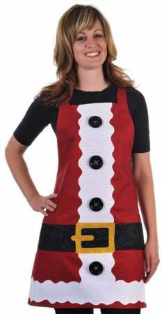 Pattern Santa's Helper Apron