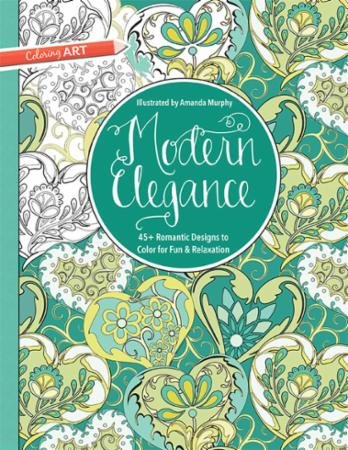 Modern Elegance Coloring Book by Amanda Murphy
