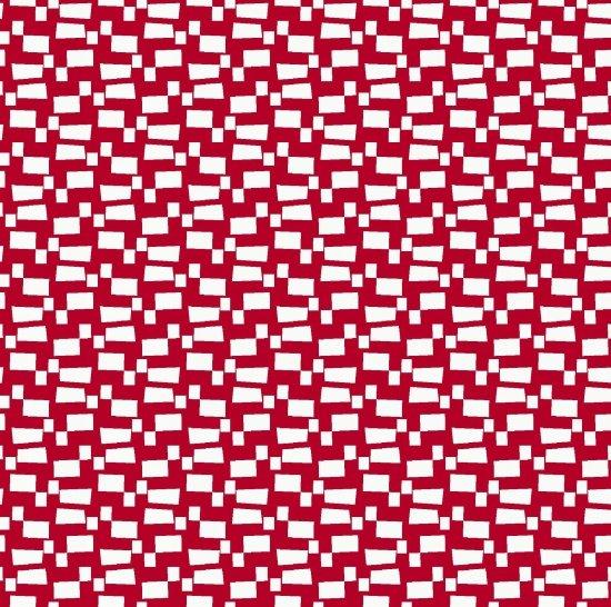 Studio E Modern Mixers III - red squares - 3618 88