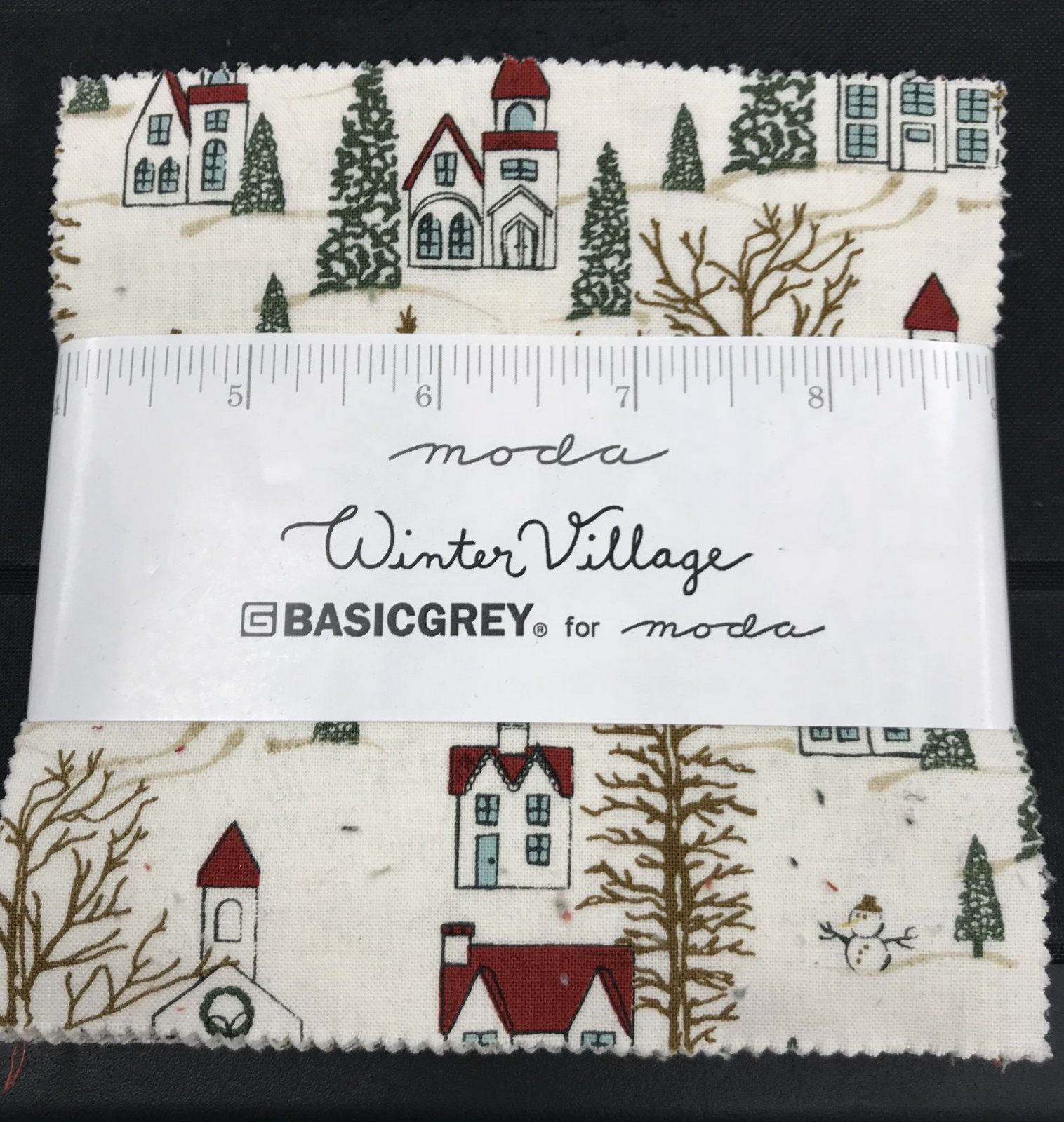 Winter Village Charm Pack by Basic Grey
