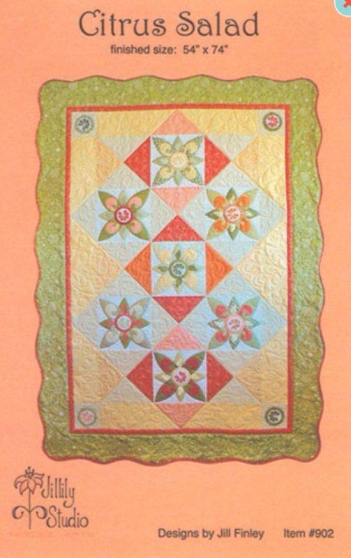 Citrus Salad quilt pattern by Jillily Studio
