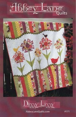 Dizzy Lizzy quilt pattern by Abbey Lane Quilts