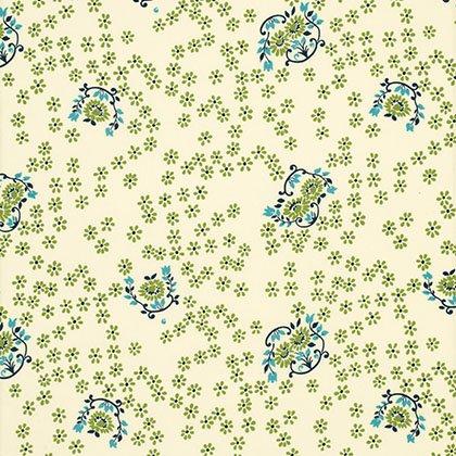 Shelburne Falls - Sparse Floral - Willow - Denyse Schmidt - PWDS046