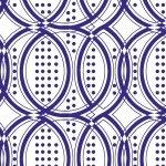Studio E Modern Mixers III - blue geometric - 3617 77