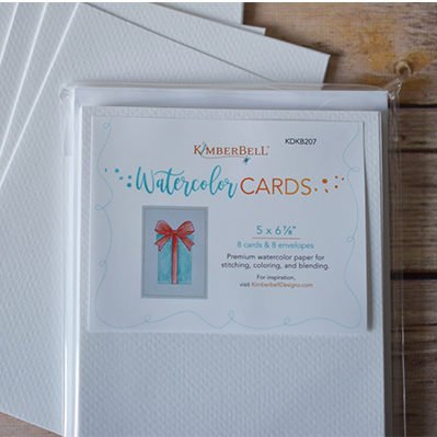 Kimberbell - watercolor cards - med