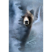 Call of the Wild-Storm Panel - Grizzly Bear