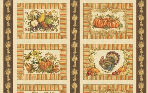 Let Us Give Thanks Placemat Panel