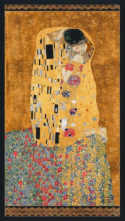 GUSTAV KLIMT#2  Gold Panel  - the kiss
