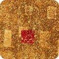 GUSTAV KLIMT - tan with red dot