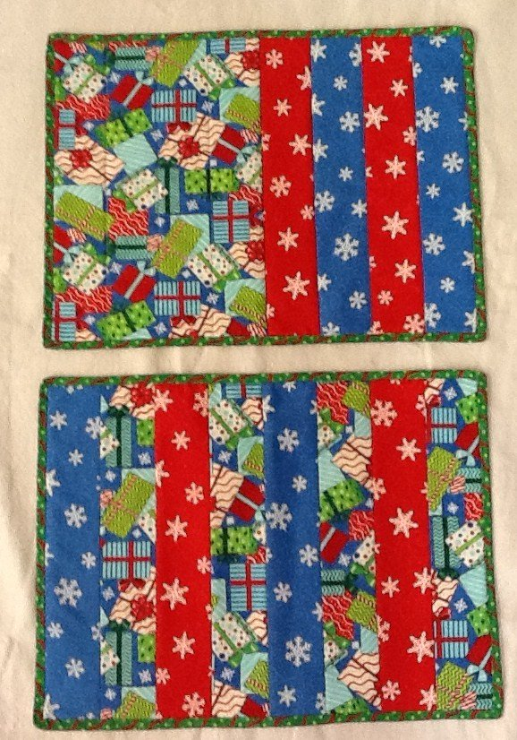 Quick And Easy Quilt As You Go Placemats