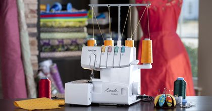 Brother 1034D Brother Serger Lay-in Thread Machine