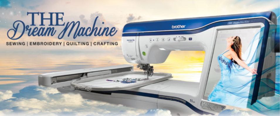 Brother Dream Machine 2 Sewing and Embroidery and more!