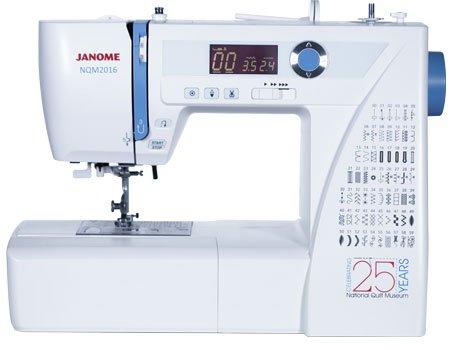 Janome 2106 National Quilt Museum 25th Anniversary machine