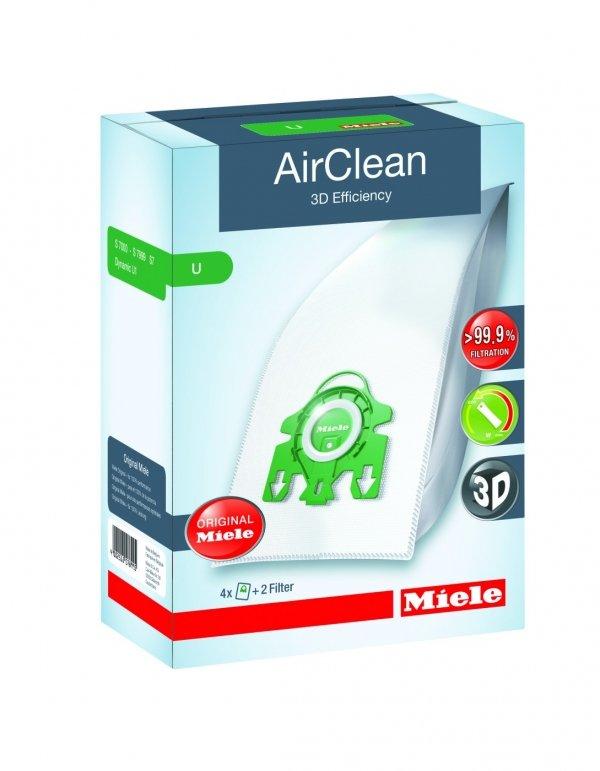 Miele AirClean FilterBags (Type U - U1and S7 Series)
