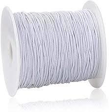 Elastic Cording White