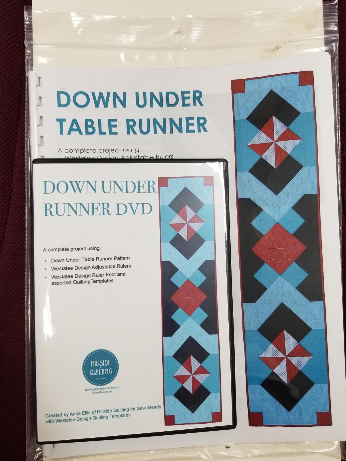 Down Under Runner DVD & Pattern