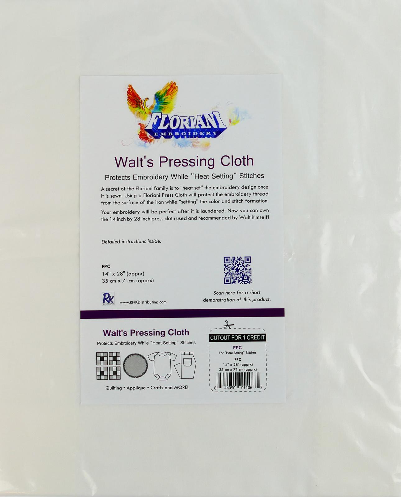 FL Pressing Cloth 14 x 28