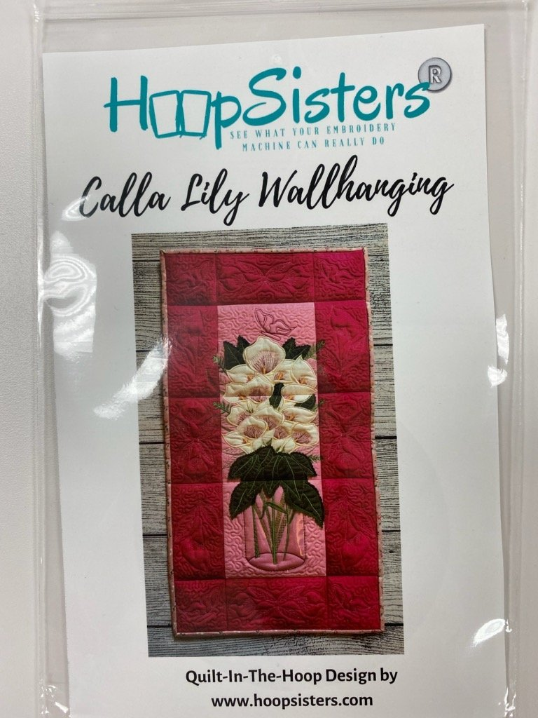 Hoop Sisters Calla Lily Wallhanging CD